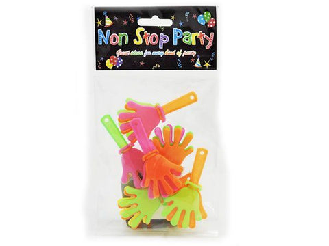 6 Pack Hand Clappers Party Bag Fillers