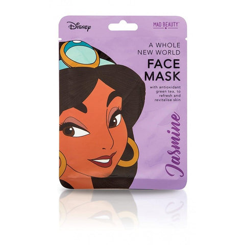 Disney Princess Jasmine Sheet Face Mask By Mad Beauty Cruelty Free