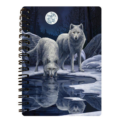 Warriors Of Winter 3D Effect Lisa Parker Notebook