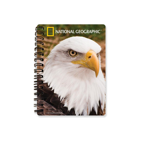 Bald Eagle National Geographic 3D Effect Notebook