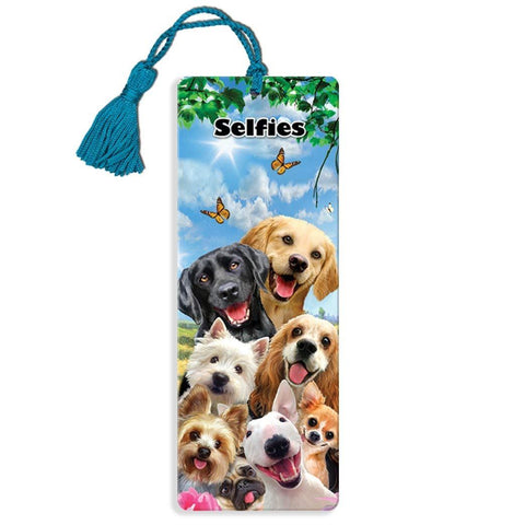 Dog Selfie Super 3D Effect Howard Robinson Bookmark