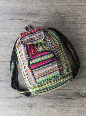 Gringo Fair Trade Gheri Drawstring Rucksack