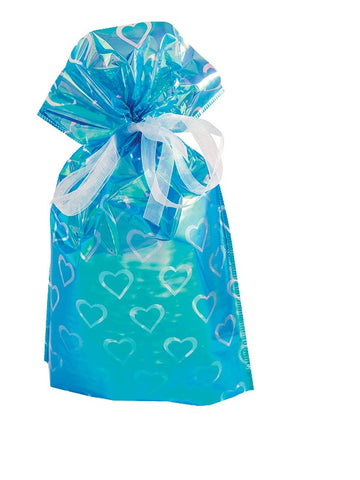 GiftMate Drawstring Gift Bags Various Colours and Designs pack of 6