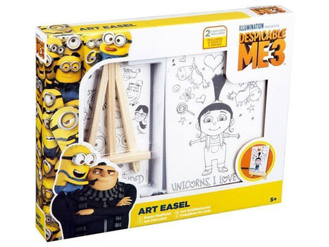 Despicable Me 3 Minion Canvas Art Easel