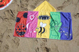 TWF Multi Colour Wrap Towel With Hood
