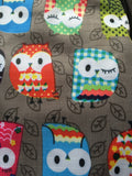 Owl Foldable Rucksack - Radford Accessories