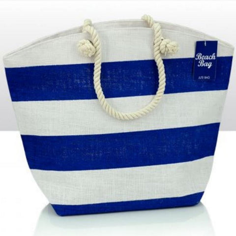 Nautical Beach Bag Bathroom Storage