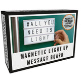 A6 Light Up Magnetic Message Board