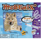 Mostaix Silver Ribbon Series Mosaic Animal Art Set