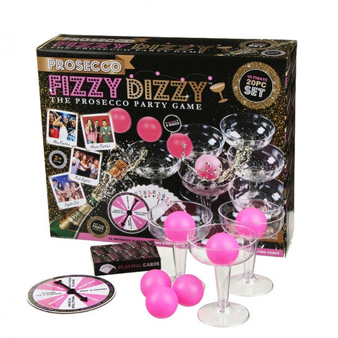 20pc Prosecco Fizzy Dizzy Party Game