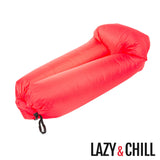 Lazy & Chill Inflatable Lounger. No pump required