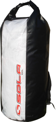 Sola Wet / Dry Bag, Water Proof with Back Pack Straps 50 or 100 Litre