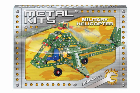 Metal Kits Military Attack Helicopter
