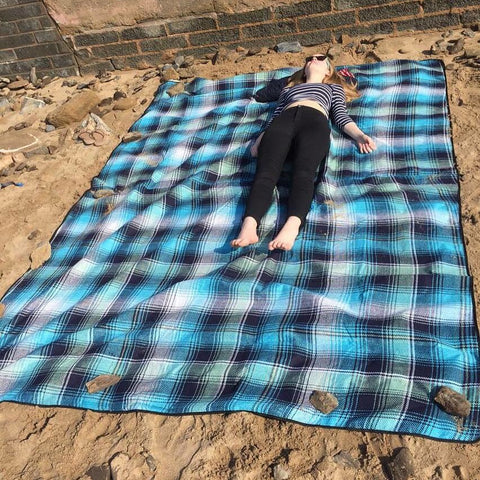 Out There! Jumbo Picnic blanket, beach mat 3 m x 2.2 m