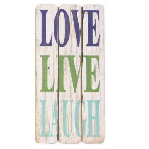 Shabby Chic Wooden Love Signs
