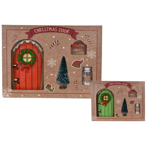 Magical Christmas Elf Door 4 Piece Set