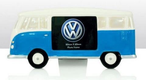 Officially Licensed Volkswagen Campervan Photo Frame choice of colours