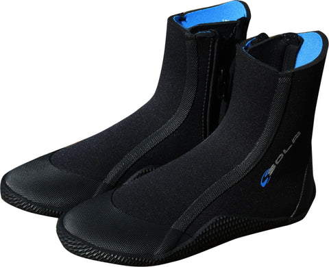 Sola Adults 5mm Neoprene Zipped Wetsuit Boot