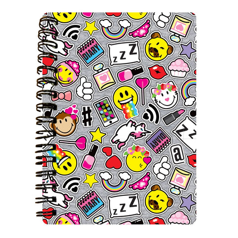 Rainbows and Unicorns 3D Effect Notebook