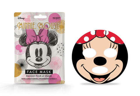 Disney Minnie Mouse Magic Sheet Face Mask By Mad Beauty Cruelty Free
