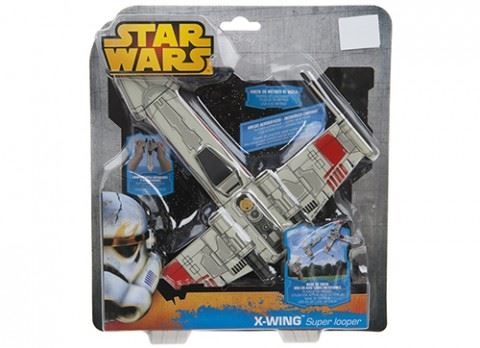 Star Wars X-Wing Super Looper Foam Glider
