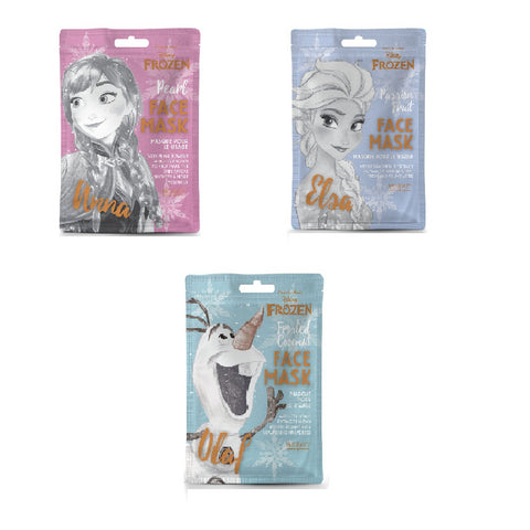 Disney Frozen Sheet Face Masks By Mad Beauty Cruelty Free