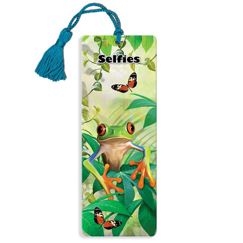 Tree Frog Super 3D Effect Bookmark By Howard Robinson