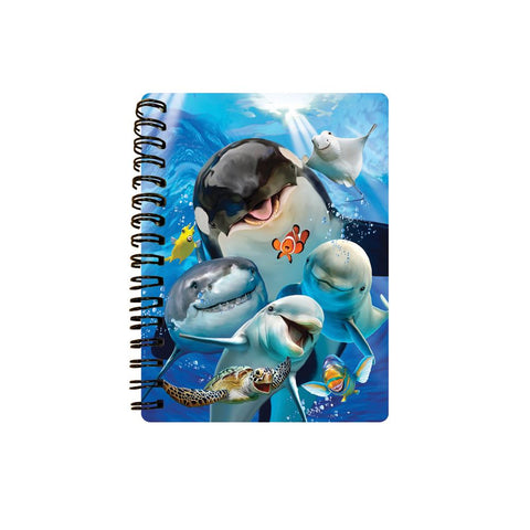 Ocean Selfie 3D Effect Howard Robinson Notebook