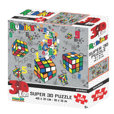 Rubik's Braniac 150pc Super 3D Effect Puzzle