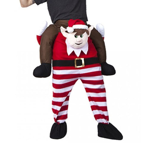Elves Behavin' Badly Lift Me Up Fancy Dress Costume