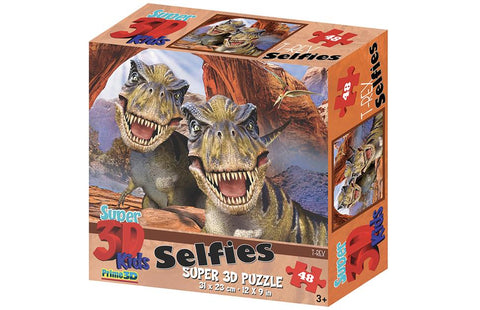 Howard Robinson T-Rex Selfie 48 Piece Super 3D Effect Puzzle