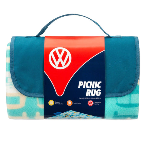 VW Rug Picnic Blanket  Officially Licensed by Volkswagen