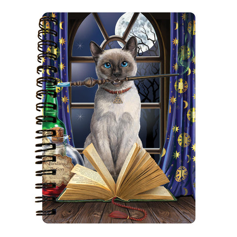 Hocus Pocus 3D Effect Lisa Parker Notebook