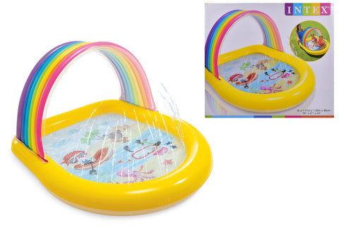 Intex Rainbow Arch Spray pool 58""