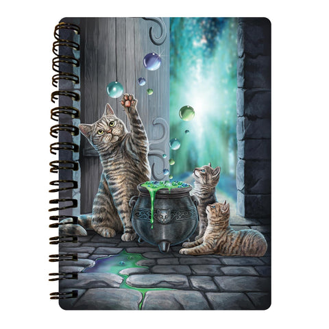 Hubble Bubble 3D Effect A6 Notebook