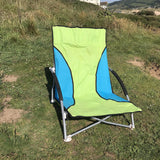 Nalu Folding Low Chair with Arms for Outdoors