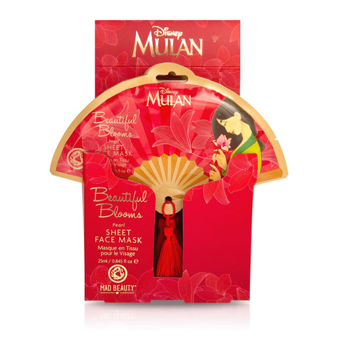 Disney Mulan Sheet Face Mask By Mad Beauty