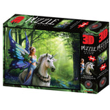 Anne Stokes Realm Of Enchantment 500pc Super 3D Effect Puzzle
