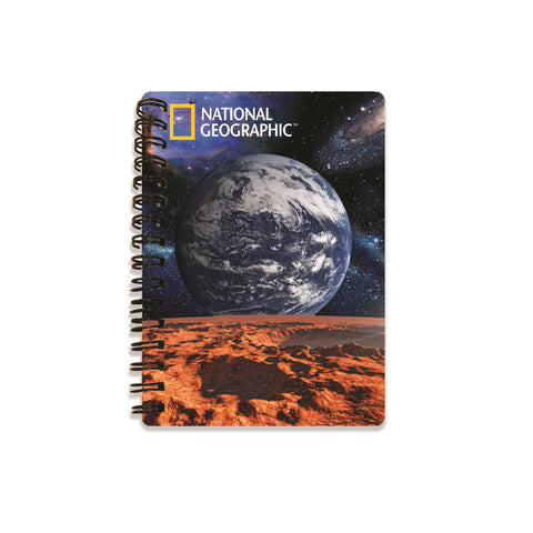 View From Mars Super 3D Effect Notebook By National Geographic