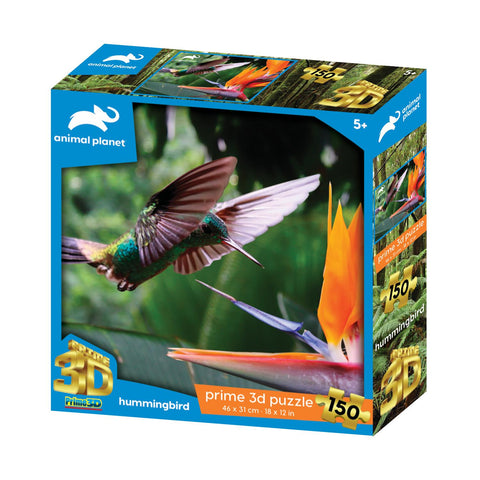 Humming Bird 150pc Prime 3D Effect Animal Planet Jigsaw Puzzle