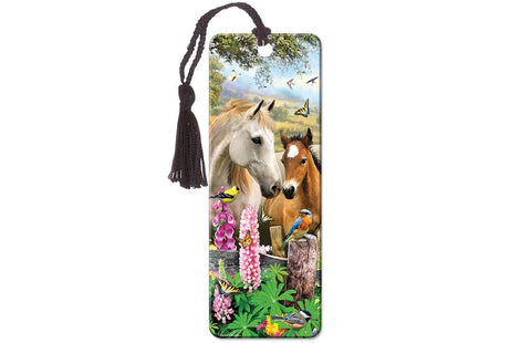 Summer Meadow Super 3D Effect Bookmark By Howard Robinson