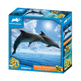 Dolphins 150pc Prime 3D Effect Animal Planet Jigsaw Puzzle