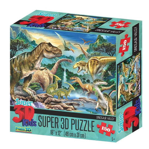 Dinosaur Valley 150pc Super 3D Effect Puzzle