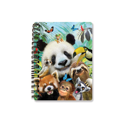 Zoo Selfie 3D Effect Howard Robinson Notebook