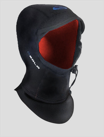 3MM Sola Core X Neoprene Peak Surf Hood XLG