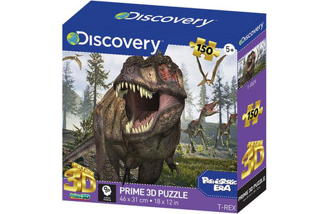 Discovery Dinosaur 3D effect 150 Piece Puzzles