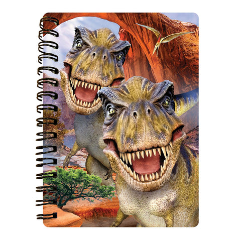 T-Rex 3D Effect Howard Robinson Notebook