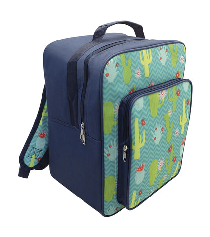 17L Insulated Cactus Backpack Cooler Bag