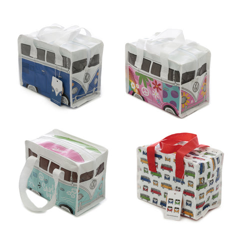 VW T1 Camper School Work Lunch Bags Made From Recycled Materials