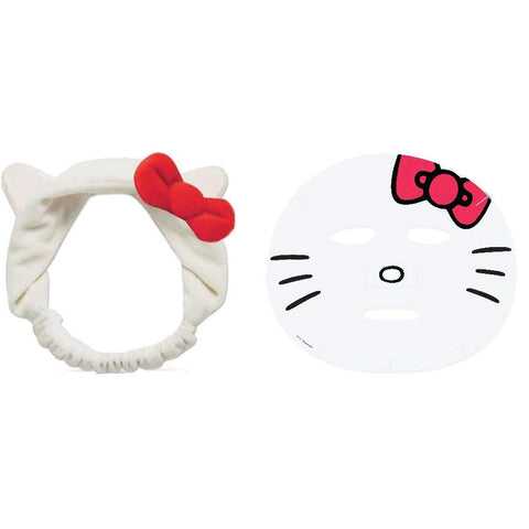 Hello Kitty Beauty Bundle Head Band with Face Mask